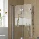 Особенности использования и установка стеклянных шторок для ванной комнаты