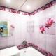 Панели для отделки ванной комнаты под плитку: виды и особенности применения