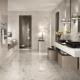 Плитка под мрамор для ванной комнаты: особенности дизайна и критерии выбора