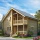 Тонкости проектирования двухэтажных домов из бруса