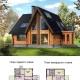 Оригинальные проекты домов из сруба