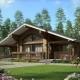 Тонкости проектирования домов из бруса для двух семей