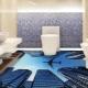Оформляем пол в ванной: правила укладки керамической плитки