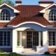 Красивые проекты двухэтажных домов из пеноблоков