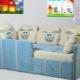 Детские диван-кровати с бортиками