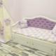 Детские кровати с мягкой спинкой