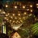 Гирлянда из лампочек – как оригинально украсить дом внутри и снаружи?