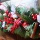 Хвойные гирлянды в новогоднем интерьере