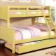Трехъярусные кровати для детей: виды, дизайн и советы по выбору