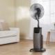 Вентиляторы с увлажнителем воздуха: устройство, обзор моделей и советы по выбору