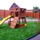 Детские площадки для дачи: чем наполнить и как оформить?