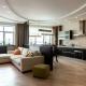 Дизайн кухни-гостиной площадью 30 кв. м: варианты планировки и зонирования