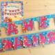 Гирлянды «С днем рождения!»: разновидности и руководство по изготовлению