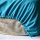 Натяжная простыня: как сделать белье на резинке?