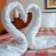 Как сделать лебедя из полотенца?