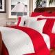 Красное постельное белье: особенности и влияние цвета