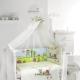 Постельное белье в кроватку для новорожденных: виды комплектов и критерии выбора