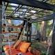 Садовые качели из поддонов