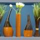 Вазы: разнообразие материалов и форм в интерьере