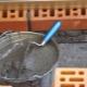 Свойства растворов для кладки кирпича и технология их приготовления
