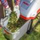 Электрические садовые измельчители: разновидности и популярные марки
