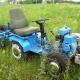 Как сделать мини-трактор из мотоблока «Нева»?