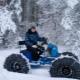 Как сделать снегоход из мотоблока?