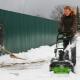 Аккумуляторные снегоуборщики: принцип работы и рейтинг лучших моделей