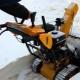 Характеристика и особенности гусеничных снегоуборщиков