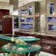 Использование стекла в интерьере кухни