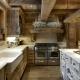 Как красиво оформить кухню в стиле шале?