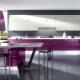 Как выбрать лиловую кухню в интерьер?