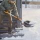 Лопаты для уборки снега Fiskars: разновидности и тонкости применения