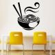 Наклейки на кухню: виды и особенности нанесения