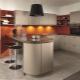 П-образные кухни с барной стойкой: дизайн и правила выбора