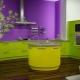 Подбираем оттенок обоев под кухонный гарнитур