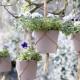 Подвесные горшки для цветов: как выбрать и повесить?