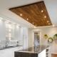 Потолок на кухне: оригинальные варианты отделки