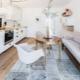 Прямые кухонные диваны: особенности, виды и правила выбора