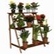 Разновидности и выбор напольных деревянных подставок для цветов