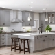 Серые кухни: виды, стили и примеры в интерьере