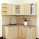 Угловые навесные шкафы для кухни: особенности и виды