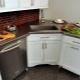 Угловые тумбы под мойку для кухни: виды и тонкости выбора