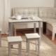 Виды маленьких угловых диванов на кухню и советы по выбору