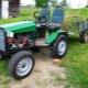 Изготовление мини-трактора 4х4 своими руками