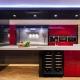 Красно-черные кухни
