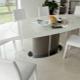 Кухонные овальные столы: особенности, виды, советы по выбору