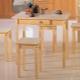 Маленькие кухонные столы: особенности, виды, материалы, советы по выбору