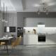 Серо-белая кухня: выбор стиля и идеи дизайна
