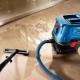 Строительные пылесосы Bosch: особенности, виды и советы по выбору